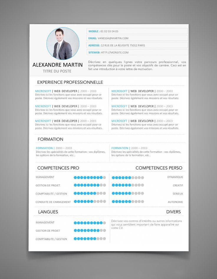 Exemplaire de CV 10 | Maxi CV