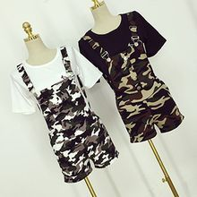 About a Girl - Camouflage Jumper Shorts