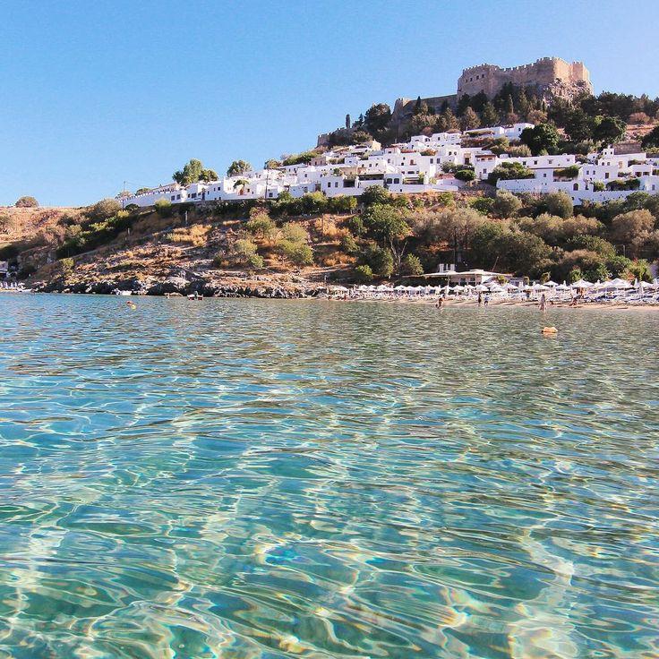 Lindos, Rhodes (Grèce) - Photo : Les Jolis Mondes