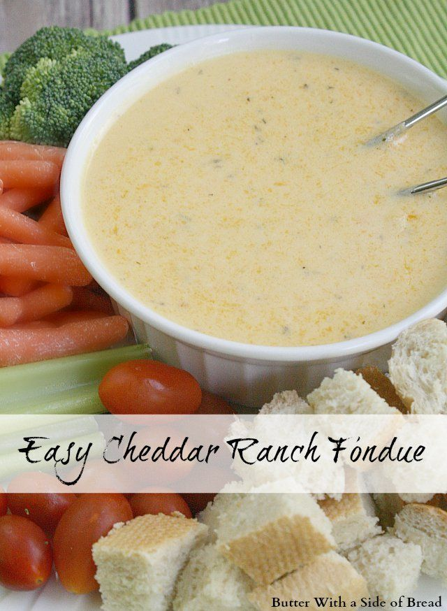 ... fondue chocolate fondue cheese fondue badgers cheddar and ranch fondue