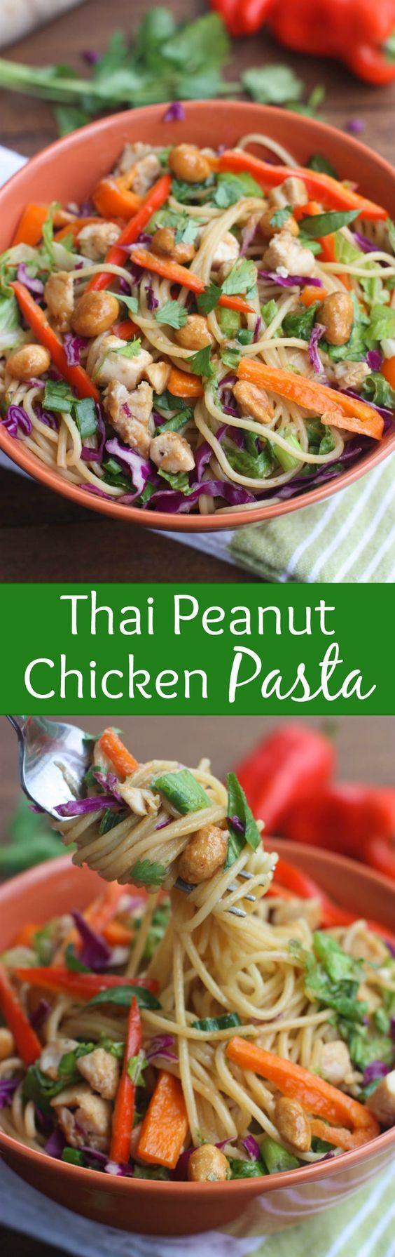 Peanut Chicken on Pinterest | Thai Peanut Chicken, Chicken and Noodles ...