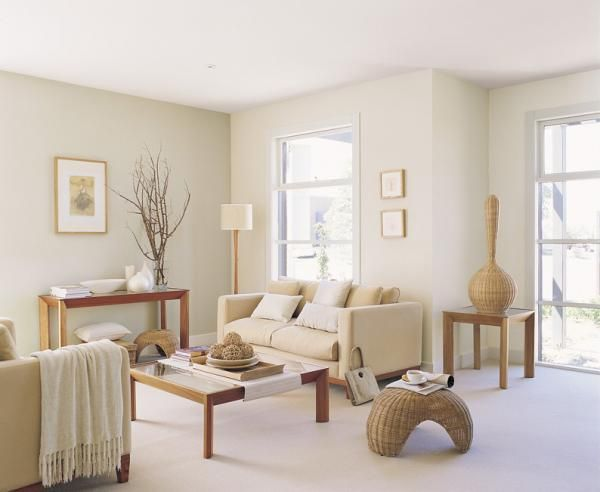 Coastal Style: The Right White - Top Paint Picks...Dulux -  China white (green undertones)