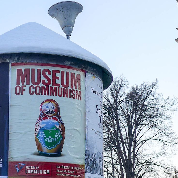 #prague #prag #praha #winter #snow #cold #museumofcommunism