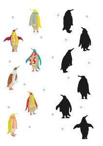 penguen_gölge_eşleştirme_çalışmaları