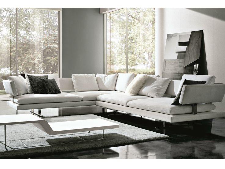 BORDERLINE Sofá de esquina by MisuraEmme diseño Mauro Lipparini