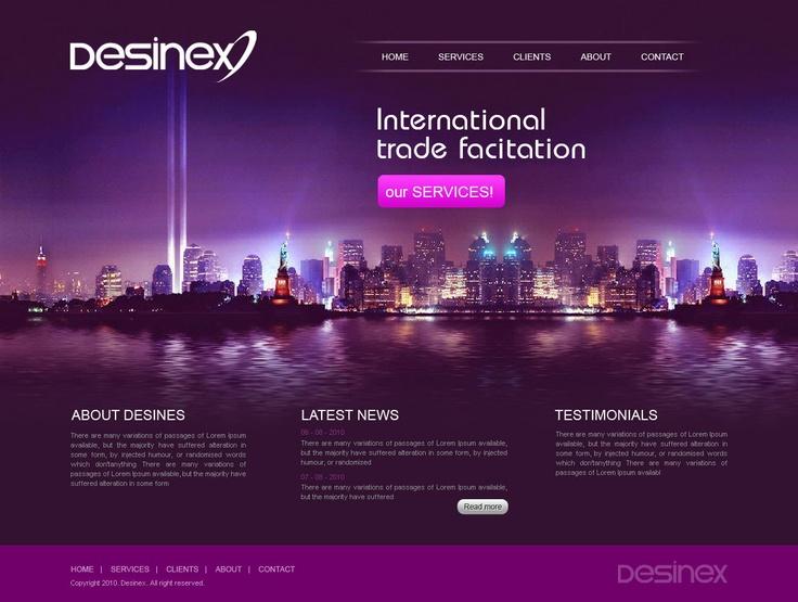 LATEST WEBSITE DESIGN TRENDS 2013