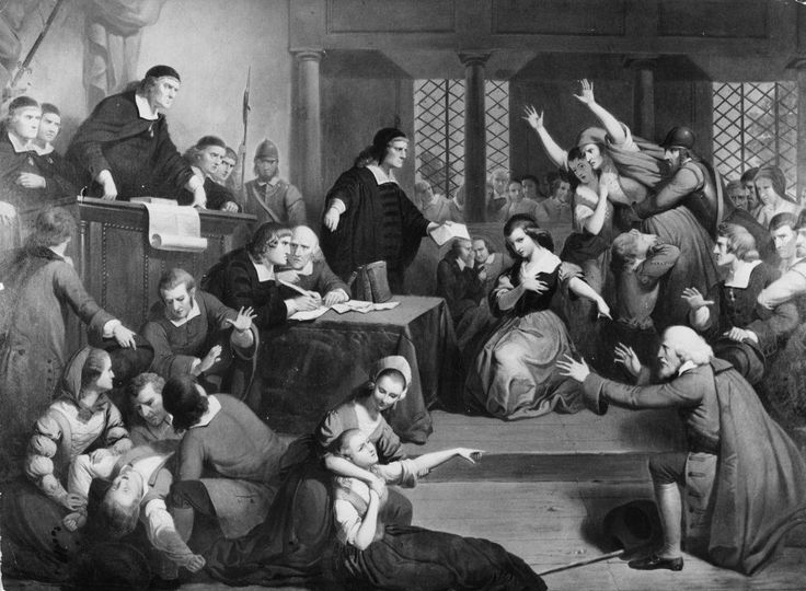 salem witch trials pictures | Salem Witch Trial - Disorder in the Court