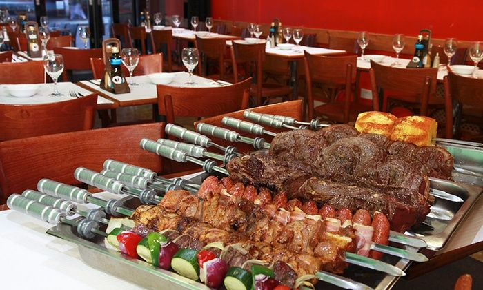 Grill Churrascaria Ltd t/a Rodizio Brazil Clapham - London: £14.99 for an All-You-Can-Eat Rodizio Barbecue Meal For One with Wine at Rodizio Brazil