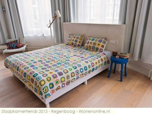 We snurken de hele nacht door met dit vrolijke dekbed van SNURK http://www.wonenonline.nl/woontrends/woontrends-2013/slaapkamertrends-2013-regenboog.html#