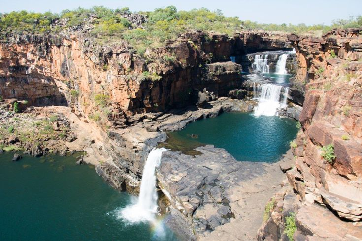 Mitchell Falls, Gibb River Road. What an epic place