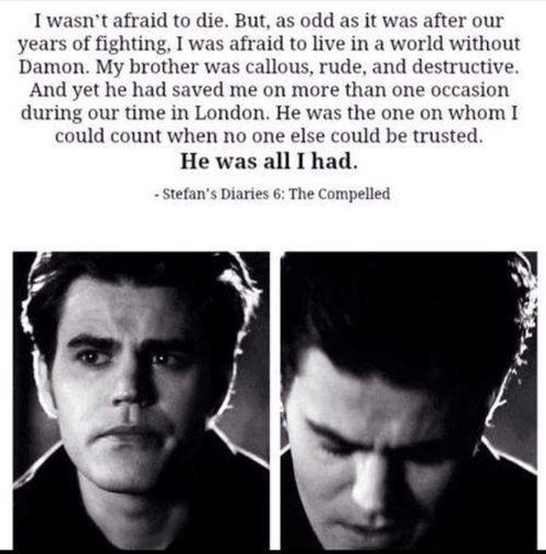 25+ best Stefan salvatore quotes on Pinterest | Vampier ...