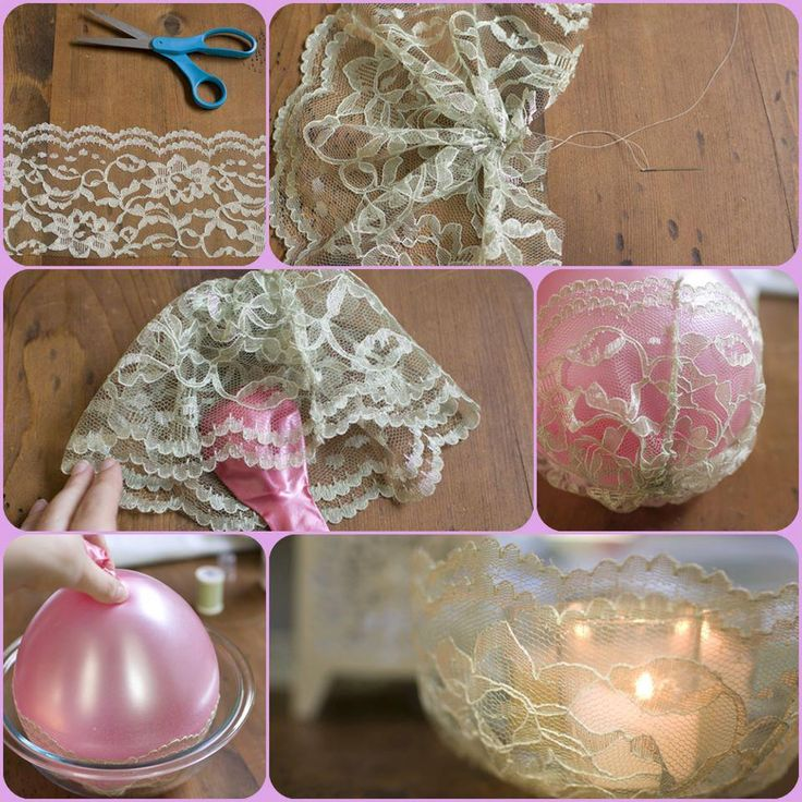 Best 25 lace candles ideas on pinterest diy lace jars diy diy simple lace candle holder solutioingenieria Image collections