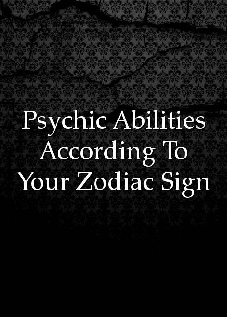 Scorpio psychic abilities