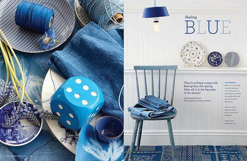 Blue blue, blue