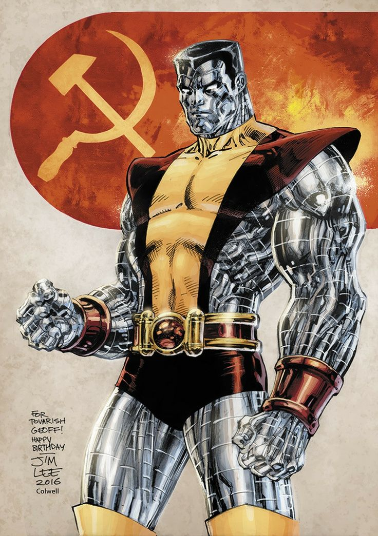 X-Men: Colossus by Jim Lee colors by ?