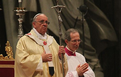God a 'relentless warrior' for our salvation, says Pope Francis