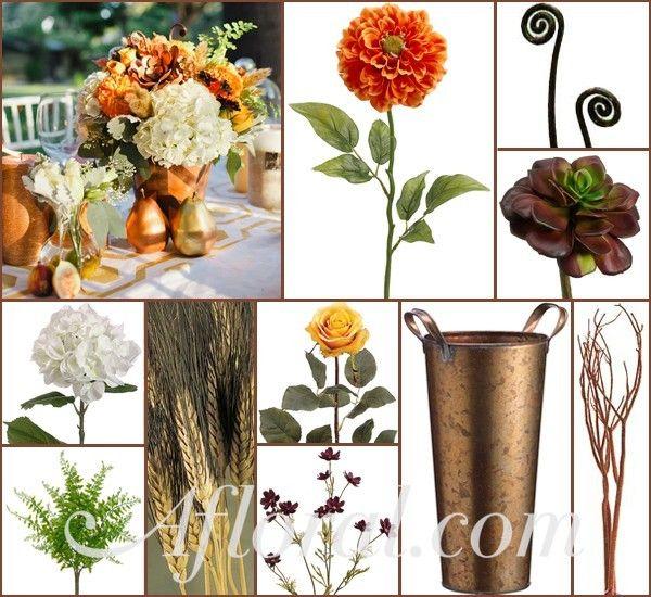 Rustic Woodland Wedding Flowers ~ Lauren's Inspiration Board