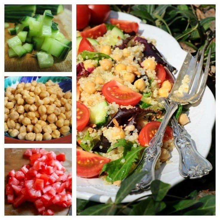 Prepara estas nutritivas ensaladas para incorporar más proteínas en tu dieta.