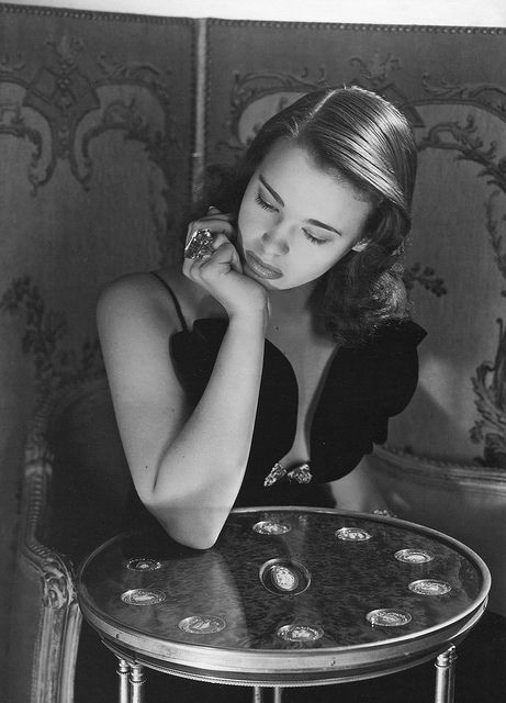 Gloria Vanderbilt by Horst P. Horst, New York, 1941.  Anderson Cooper's mother
