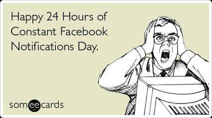 It's true! #facebook #birthday