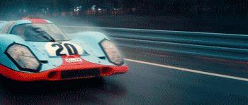 Steve McQueen's Porsche 917 from the 1971 film'LeMans'  Always reblog 917′s