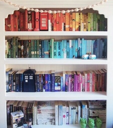 Love the TARDIS amongst the books