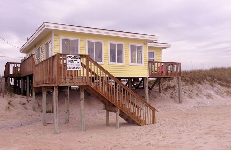 Surf City Vacation Rental - VRBO 504607 - 3 BR Topsail Island Cottage in NC, Oceanfront, Pet Friendly Cottage,Sleeps 9 - Next to Heaven