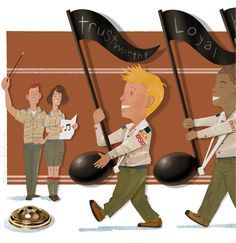 Great ideas to help Cub scouts learn the Scout Law with games and song.