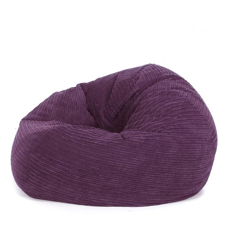 Brilliant Purple Bean Bag Chair Furniture In Home Decoration Idea From Design