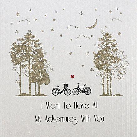 FIVE DOLLAR SHAKE Bike Valentine's Day card £5.50