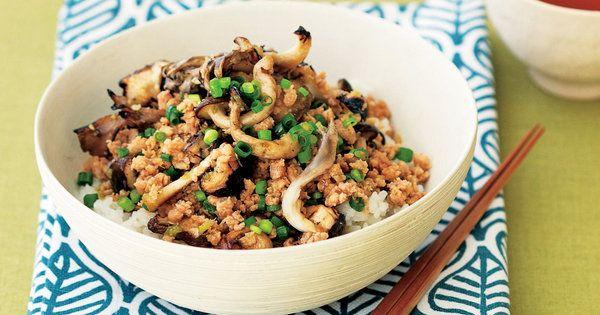 たっぷりきのこ入りだから、満腹感もお約束 『ELLE a table』はおしゃれで簡単なレシピが満載!