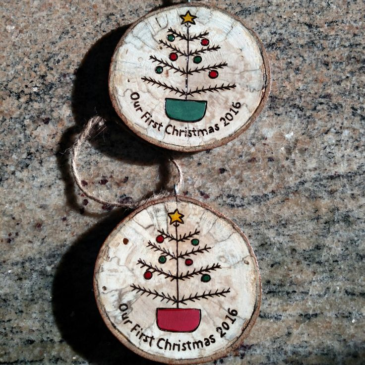 Wedding coming up?  What a great gift for the bride and groom!  A personalized ornament for their tree that they can enjoy year after year.  We are adding new personalized ornament options weekly.