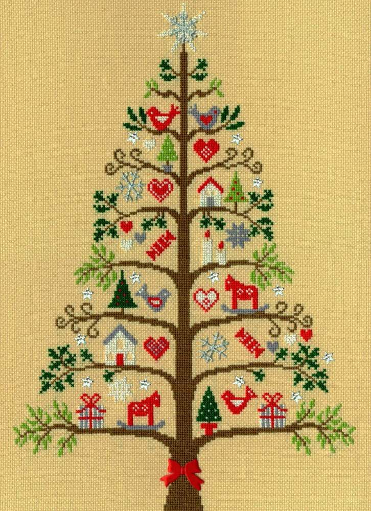 Scandi Tree - Bothy Threads Cross Stitch