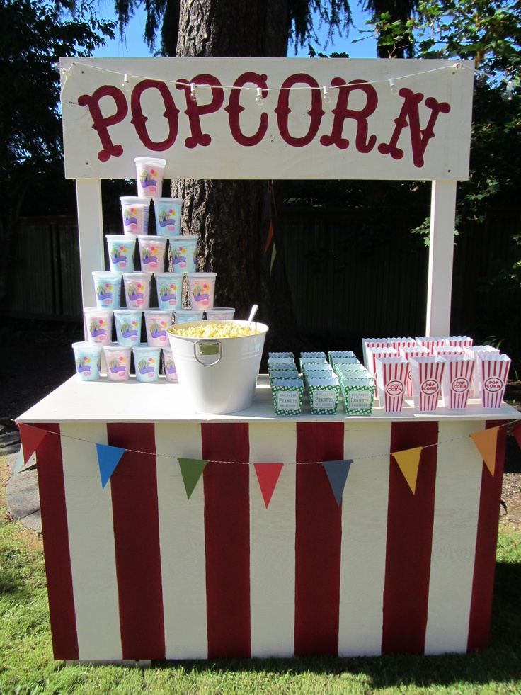 my pop corn stand:)