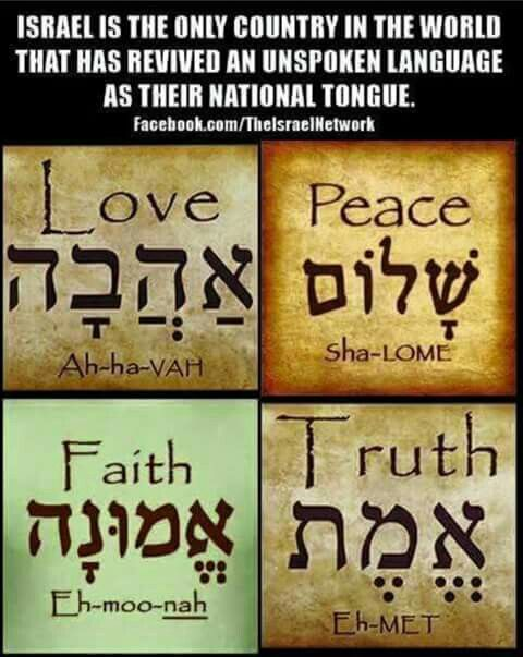 Love peace faith truth