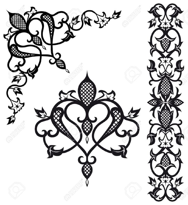 baroque style pattern - Google Search