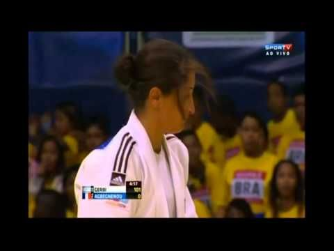 ** WATCH **  Yarden Gerbi of Israel wins gold at the Judo World Championships | No. 1 seed in under-63 kilogram category defeats French rival after only 43 seconds, becomes first Israeli to win world championship