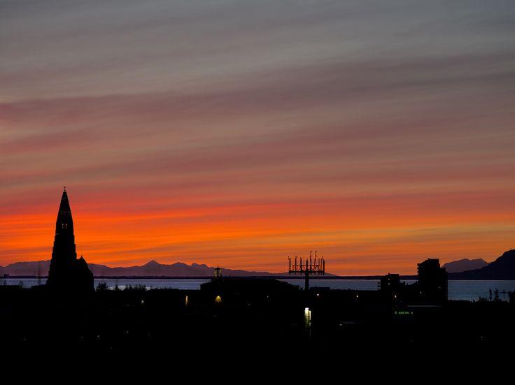 Reykjavik by Kristinn Gudlaugsson on 500px