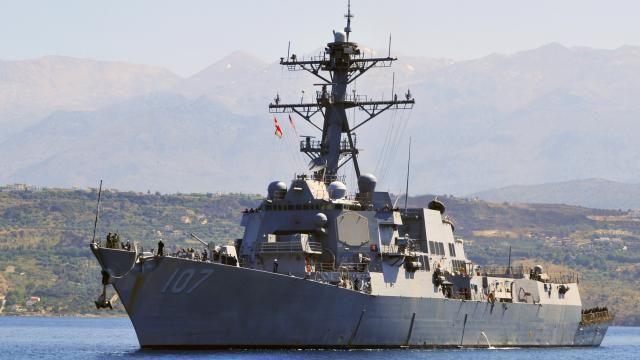 Amerikaanse marine lost waarschuwingsschoten naar schepen Iraanse garde   NU - Het laatste nieuws het eerst op NU.nl