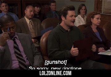 A Very Swanson Ringtone#funny #lol #lolzonline