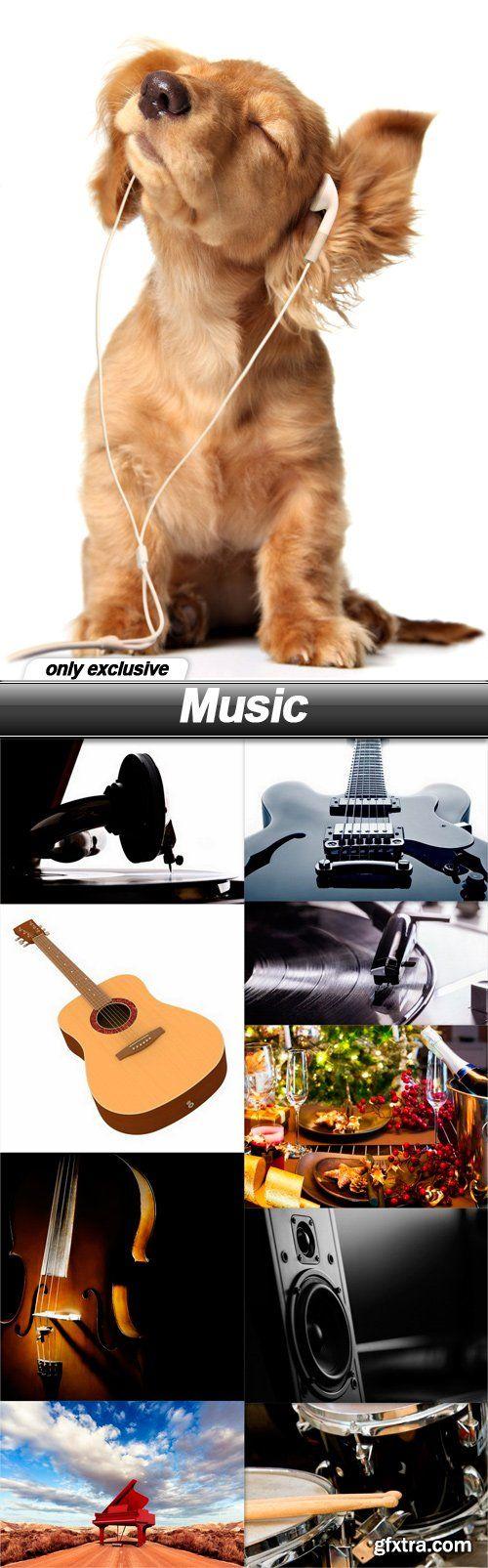 Music - 10 UHQ JPEG