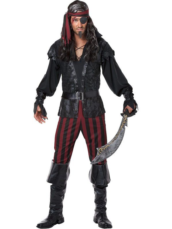 Check out Ruthless Rogue Mens Pirate Costume - Wholesale Pirate Costumes for Men from Wholesale Halloween Costumes