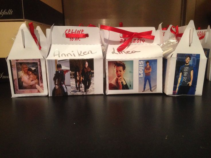One Direction gift boxes @One Direction