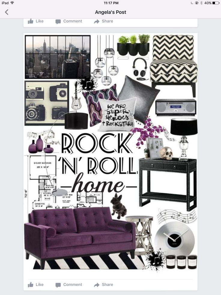 Rock N Roll Home Decor by on Polyvore featuring polyvore  interior   interiors  interior design  home  home decor  interior decorating   Safavieh. 17 Best ideas about Rockabilly Home Decor on Pinterest   Skull