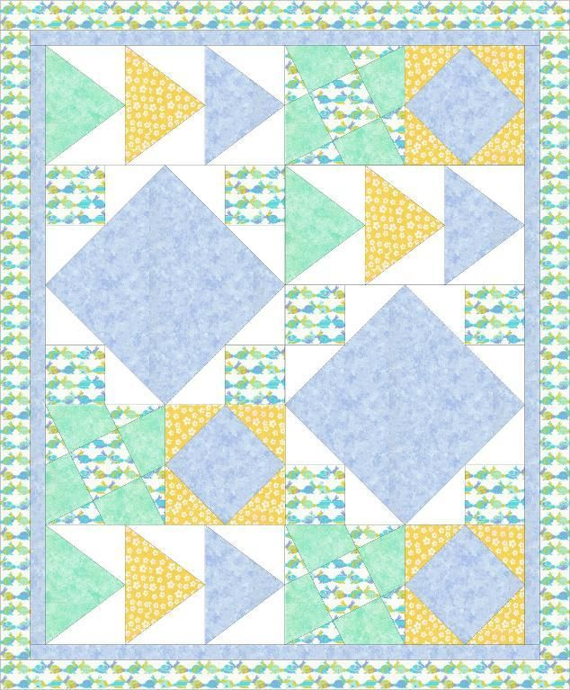 baby quilt boy via craftsy quilting ideas 87265