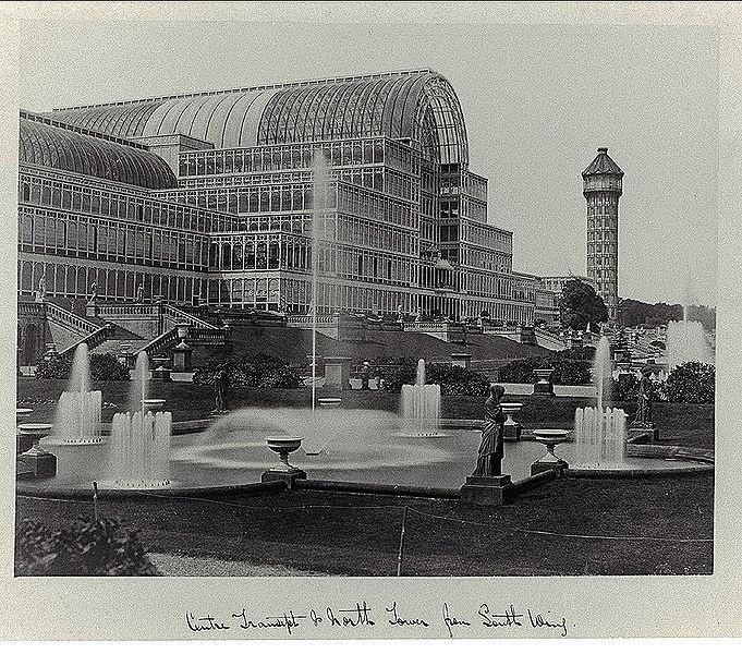 Crystal Palace - London 1854