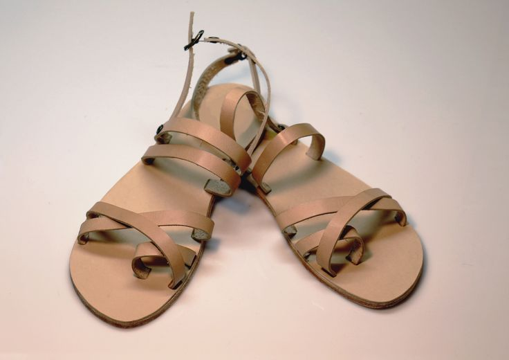 Ancient Greek handmade men sandals genuine leather fashion sandals