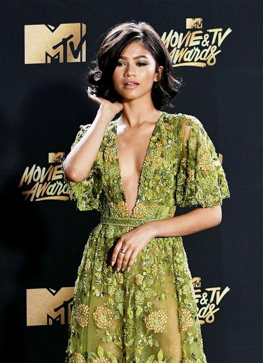 "zendaya-daily:  ""Zendaya attends the 2017 MTV Movie And TV Awards  The Shrine Auditorium, Los Angeles  May 7, 2017  """