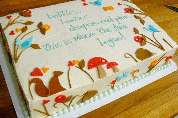 woodland baby shower sheet cake woodland animals animal baby showers