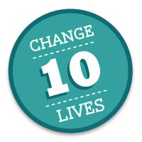 Life's Dewlaps: Change 10 Lives In 10 Days, Water.org